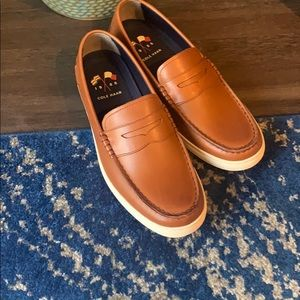 Cole Haan brown loafer